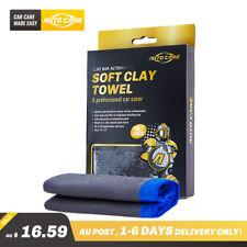 Autocare 2pcs 30 30cm Microfiber Clay Bar Towel Car Detailing Clean Wash Cloth