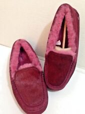 Ugg Australia Ansley Exotic Moccasin Slippers Women's Size 7 New.