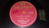 "FRANKIE LAINE Moonlight Gambler / Lotus Land 10"" 78 Columbia 40780 (1956) EX!"
