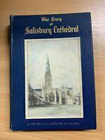 "1933 ""THE STORY OF SALISBURY CATHEDRAL"" PHOTO ILLUSTRATED HARDBACK BOOK"