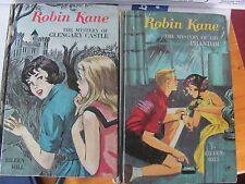 Robin Kane lot of 2 hardcover books 1960s Phantom Glengary Castle