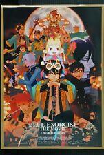 japan 18) Blue Exorcist: The Movie Pamphlet