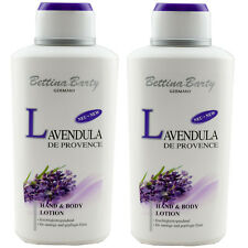Bettina Barty LAVENDULA Hand & Body Lotion 2 x 500 ml TOP PREIS