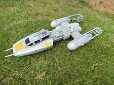 STAR WARS ACTION FIGURE VEHICLE - REBEL Y-WING FIGHTER COMPLETE WITH BOMB