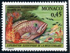 STAMP / TIMBRE DE MONACO  N° 981 ** / FAUNE / POISSON / MEROU
