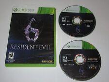 Resident Evil 6 (Xbox 360, 2012)