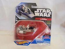 Star Wars - Disney Hot Wheels - First Order Snowspeeder with Flight Navigator
