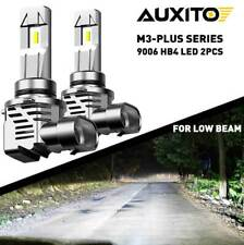 AUXITO M3-plus Series 9006 LED Headlight Bulbs Low Beam 200W 24000LM Bright Kit