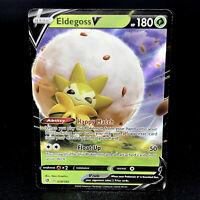 Eldegoss V - SWSH Rebel Clash 19/192 - Half-Art Holo Rare Pokemon Card