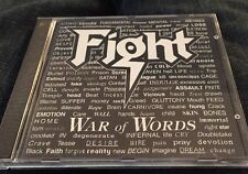 FIGHT THE WAR OF WORDS CD Judas Priest Iron Maiden Black Sabbath Import Dio