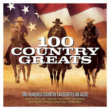 100 Country Greats - One Hundred Country Favourites On 4CDs NEW/SEALED