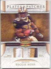 reggie bush 2x dual jersey patch dolphins saints usc trojans 5 color #/100 2007