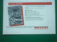 3/1985 PUB WILD HEERBRUG WILD BIG 2 3 21 LUNETTES DE VISION NOCTURNE NIGHT AD