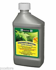 Chelated Liquid Iron and Other Micro Nutrients for Plants (16 oz)