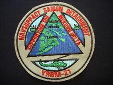 Vietnam War US Naval Support Activity SAIGON Detachment YRBM-21 Patch