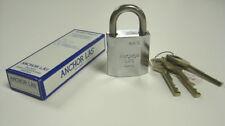 Anchor Las 810-1 Grade 2 Chrome Plated Brass Padlock x 6pcs