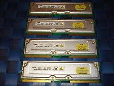 1GB RDRAM Kit (256MB x4)  RAMBUS RIMMS