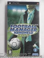 OCCASION: Jeu FOOTBALL MANAGER HANDHELD 2007 playstation PSP sony foot francais