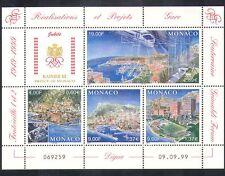 Monaco 1999 Trains/Station/Harbour/Buildings/Architecture/Transport sht (n38189)