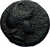 PHILIP V or VI ANDRISKOS 200BC RARE R1 Ancient Greek Coin PERSEUS HARPA i71754