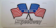 Vintage Speedway Snowmobile Logo Novelty License Plate