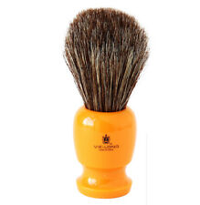 Vie-Long 12750 Horse Hair Shaving Brush, Butterscotch Handle