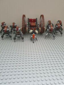Lego droidikas and hailfire droid mint condition.