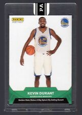 2016 Panini Instant Kevin Durant First Warriors Card Green Version #4/5