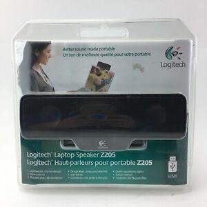 Logitech Laptop Speaker Z205 for Windows and Mac NEW Sealed Portable Light Clip