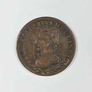 Half Penny Token Field Marshall Wellington 190261B