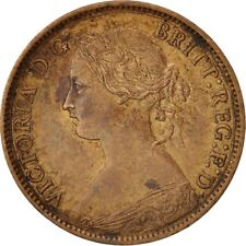 [#409626] Great Britain, Victoria, Farthing, 1860, AU(50-53), Bronze, KM:747.1