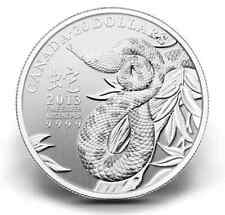 CLEARANCE MUST SELL! 2013 Year of the Snake 99.99% Silver coin