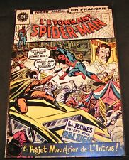 L'ETONNANT SPIDER-MAN # 19 RARE FRENCH HERITAGE VF, 1972