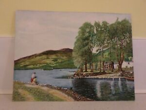 WATERCOLOUR PAINTING SIGNED BY C.R.NICHOLSON 1965