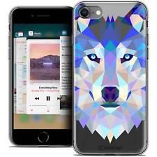 """Funda Carcasa para iPhone 8 (4.7"""") Polígono Animal Flexible Fino Lobo"""