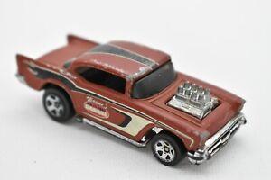 Hot Wheels Flat Brown Wayne's Garage '57 Chevy Loose