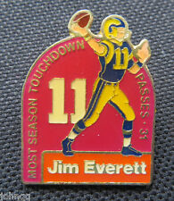 Unocal 76 Los Angeles Rams Touchdown Record Setting Lapel Pin Jim Everett