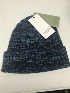 Goodfellow & Co Men's Cuffed Winter Beanie Blue Contrast Mixed Color One Size