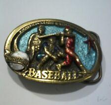 American Buckle Company~ belt buckle~Major Leeague baseball 1063~ Made in 1982
