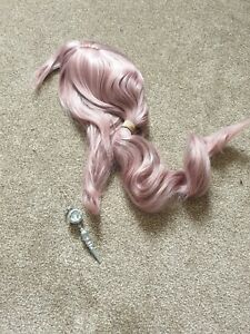 Serah Farron Cosplay Wig And Necklace Final Fantasy XIII