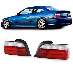 Rückleuchten Rot Weiß für BMW 3er E36 Coupe Cabrio 90-99