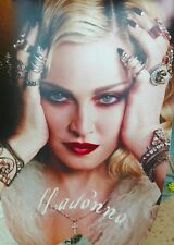 Madonna 2018 official calendar poster - extremely rare and very limited