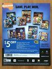 2004 BEST BUY Video Games Coupon Print Ad/Poster Nickelodeon SpongeBob Tak Art