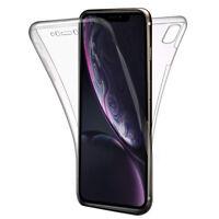 "Coque Housse 360° Clear FULL TPU Gel Silicone Apple iPhone XR (2018) 6.1"" A1984"