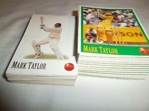 1996 Cricket Stickers Set (and bonus pop up cards set)