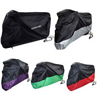Large Waterproof Outdoor Motorcycle Moped Cover Motorbike Scooter Rain Protector