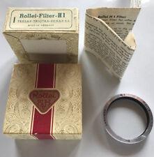 Rolleiflex Filtre UV H1 pour Bay I Caméra Tessar Xenar 75mm Verres f3.5 Triotar