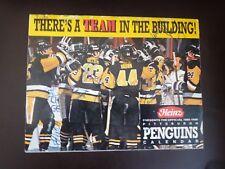 NHL Pittsburgh Penguins 1989 - 90 Heinz Calendar - autographed - Lemieux etc...