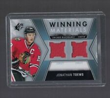 Jonathan Toews Chicago Blackhawks 14-15 SPX Winning Materials Dual Jersey Card
