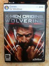 x men origins wolverine jeux pc anglais francais